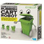 4M Robot Lixeira Green Science