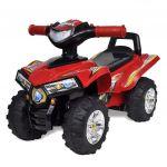 VidaXL Carro Motorizado Vermelho com Música e Luzes - 10070