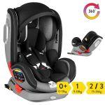 Innovaciones MS Cadeira Auto Turn Dual 360 Black/Grey