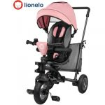 Lionelo Triciclo 2 em 1 Tris Candy Rose Grey