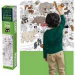 Sigtoys Day Zoo: Posters Gigantes para Colorir Sortido