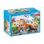 Playmobil City Life - Ambulância com Luz - 70049