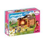 Playmobil Heidi - Estábulo de Cabras do Pedro - 70255