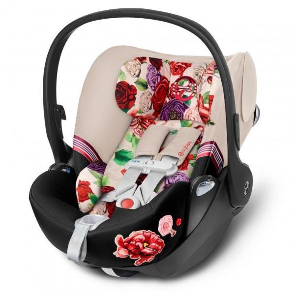 Cybex Cadeira Auto Cloud Z i-Size Isofix Sensorsafe 0-1 Spring Blossom Light