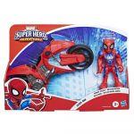 Hasbro Super Hero Adventures - Figura e Mota Spider-Man - E7929
