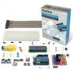 Ebotics Kit Profi. C/uno R3+Motor Shield P/robô+comp.+fios+breadboard 830 MXBC02