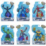 Hasbro Avengers Figura Bend and Flex Aleatório