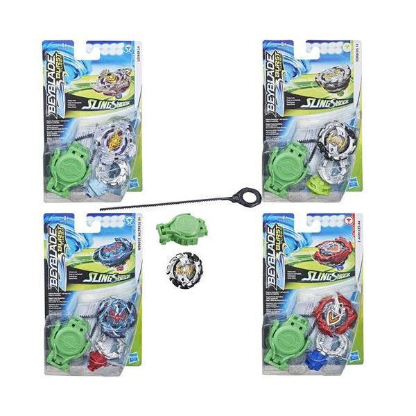 Hasbro Beyblade Pião e Lançador SlingShock Starter Pack Aleatório