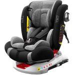 Babify Cadeira Auto On board 360º 0/1/2/3 Preto/Cinza