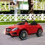 Aosom Carro Elétrico Infantil Mercedes Benz Gla com Comando, MP3 usb 3m+