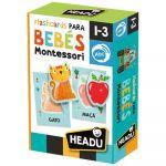 Headu Puzzle Montessori Flash Cards para Bebé