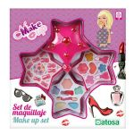 Conjunto de Maquilhagem Infantil Estrela Cor de Rosa