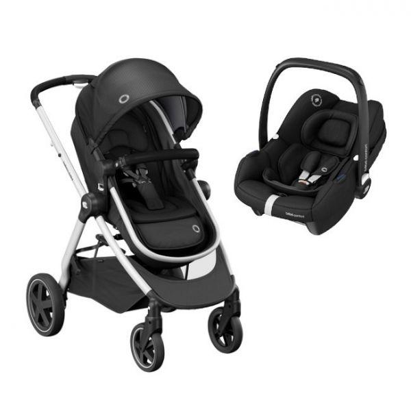 Bébé Confort Conjunto Duo Zelia2 Tinca Essencial Black