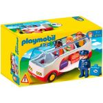 Playmobil 1.2.3 - Autocarro do Aeroporto - 6773