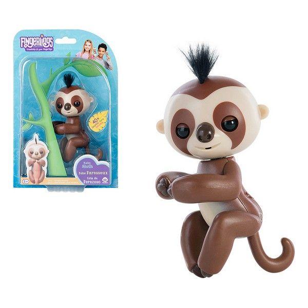 Fingerlings Boneco Baby Sloth Castanho 117511