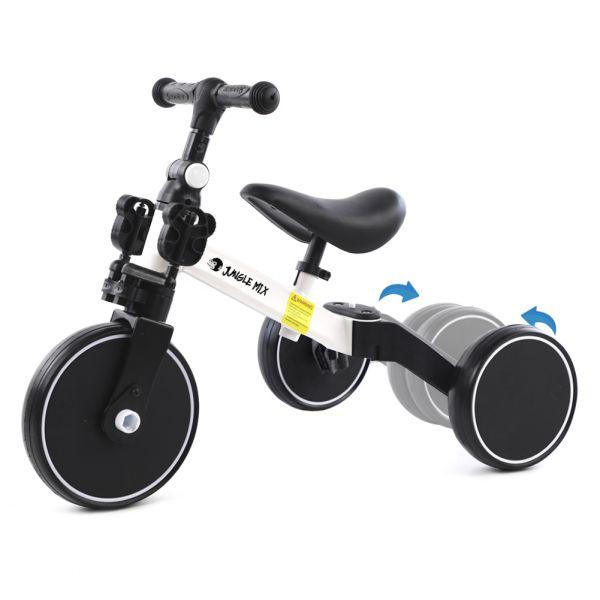 Biwond Triciclo Infantil Conversível 3 em 1 Jungle Mix (branco) - BW0065