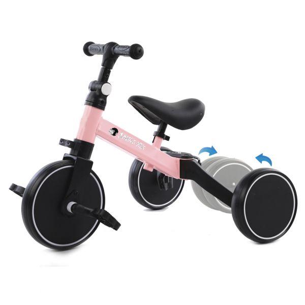 Biwond Triciclo Infantil Conversível 3 em 1 Jungle Mix (rosa) - BW0066