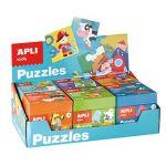 APLI Expositor Jogo Educativo Puzzle Kids 6un - APL13856