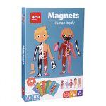 APLI Jogo Educativo Magnético Corpo Humano 63 Peças - APL18531