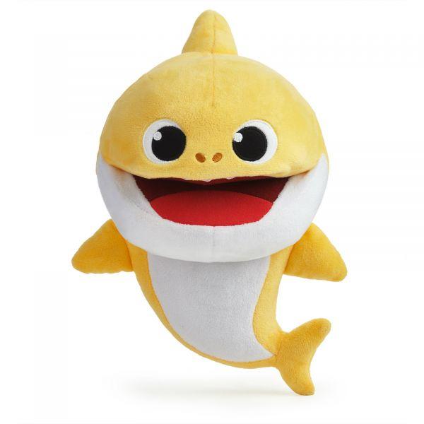 Concentra Baby Shark Fantoche com Ritmo Amarelo - 116037-3