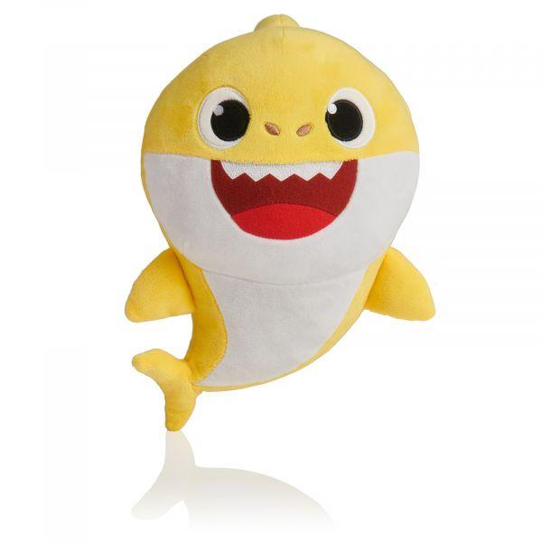 Concentra Baby Shark Peluche Médio Musical Amarelo - 116044-3