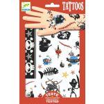 DJECO Tatuagens Piratas DJ09584 - 3070900095847