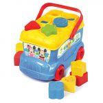 Clementoni Mickey, Autocarro Formas e Cores - 14395