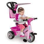 Feber Triciclo Baby Plus Music Pink