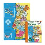 Diset Puzzle Distritos de Portugal - 63739