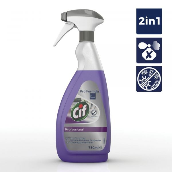 Cif Detergente e Desinfetante Cozinhas 2in1 750ml - 01100848997