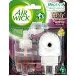 Air Wick Ambientador Elétrico + Recarga Touch of Luxury Essential Oils Satin & Moon Lily 19ml