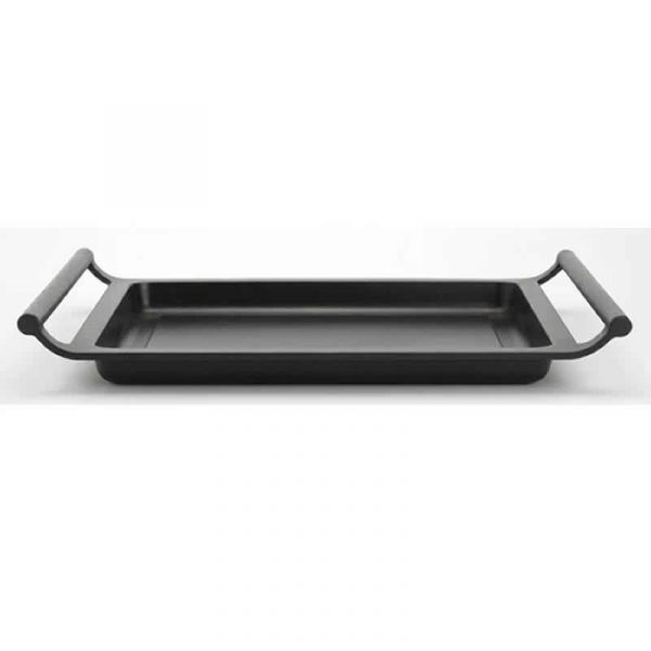 Bra Grelhador Lisa 40cm Alumínio Fundido Efficient