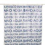 El Corte Inglés Cortina de Banho Antimofo Argolas Água - A15416995