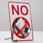 """Sinal Proibido """"No"""" - H3525136"""