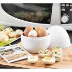 Innovagoods Cozedor de Ovos o Micro-ondas com Livro de Receitas Boilegg