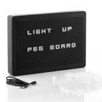 Innovagoods Quadro Perfurado Inserir Letras led