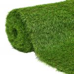 Relva Artificial 1x5 m/40 mm Verde - 43869
