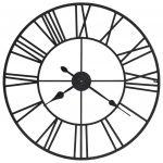 Relógio de Parede com Movimento Quartzo Metal 80 cm Xxl - 50644