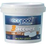 Ecopool Cloro Três Ações 5 Kg