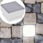 VidaXL Luzes led de Encastrar No Chão 6 Pcs 100x100x68 mm