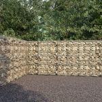 VidaXL Muro Gabião com Tampas Aço Galvanizado 600x30x200 cm