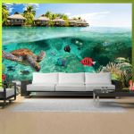 Papel de Parede Under the Surface of Water - 150x105 - A1-MNEW010773