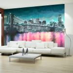 Papel de Parede Painted New York - 150x105 - A1-MNEW010260