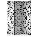 Biombo White Mandala [room Dividers] - 135x172 - A1-PARAVENT1019