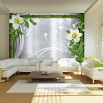 Papel de Parede Bamboo And Two Orchids - 300x210 - A1-XXLNEW010607