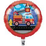 """Creative Converting Balão Foil 18"""" Camião Bombeiros - 120332203"""