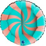 "Grabo Balão Foil 18"" Swirl - 460002317"