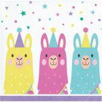 Creative Converting Guardanapos Pequenos Llama Party - 120339581