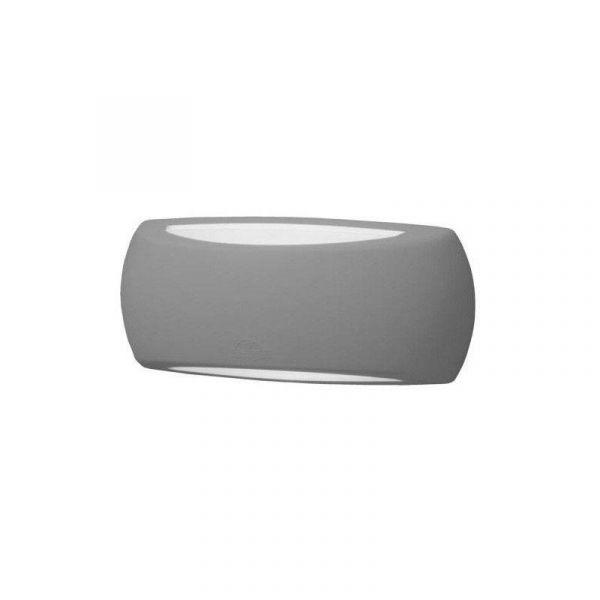 Fumagalli Aplique Parede LED Francy E27 6W / Cinza - 1A1.000.000.LYF1R