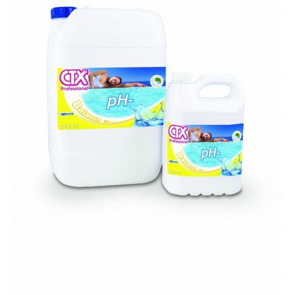 CTX Incrementador de pH líquido CTX-15 pH- 25Kg